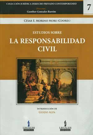 ESTUDIOS SOBRE LA RESPONSABILIDAD CIVIL