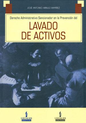 DERECHO ADMINISTRATIVO SANCIONADOR EN LA PREVENCIÓN DEL  LAVADO DE ACTIVOS
