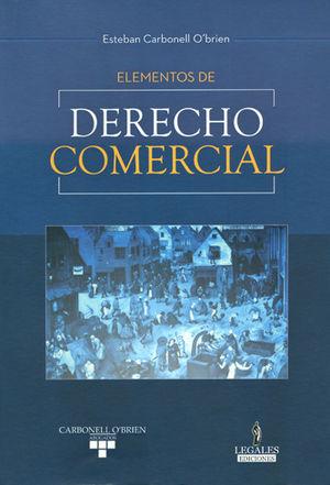 ELEMENTOS DE DERECHO COMERCIAL
