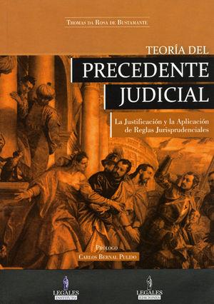 TEORIA DEL PRECEDENTE JUDICIAL