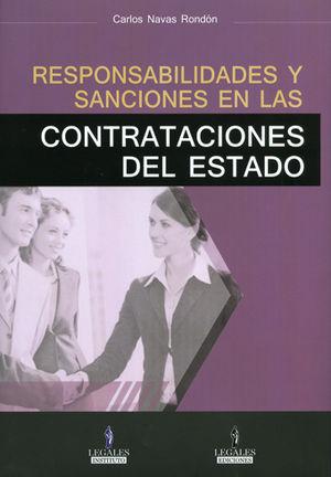 RESPONSABILIDADES Y SANCIONES EN LAS CONTRATACIONES DEL ESTADO