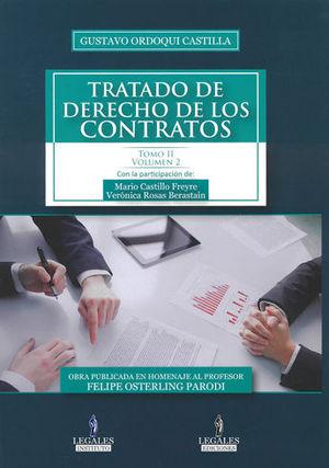 TRATADO DE DERECHO DE LOS CONTRATOS. TOMO II VOL. 2
