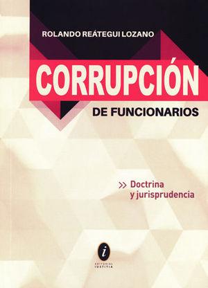 CORRUPCIÓN DE FUNCIONARIOS DOCTRINA