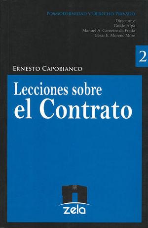 LECCIONES SOBRE EL CONTRATO