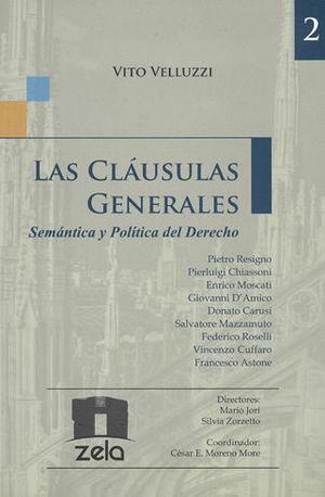 CLÁUSULAS GENERALES, LAS