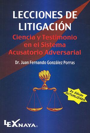LECCIONES DE LITIGACIÓN - 2.ª ED. 2021