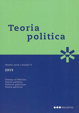 TEORÍA POLÍTICA 2015