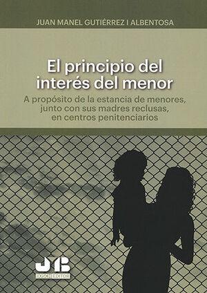 PRINCIPIO DEL INTERÉS DEL MENOR, EL