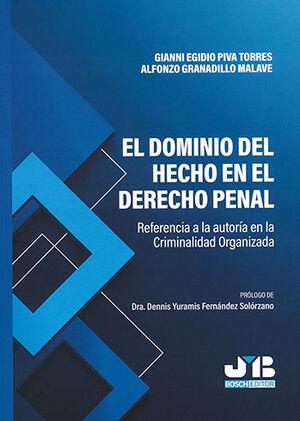 DOMINIO DEL HECHO EN EL DERECHO PENAL, EL