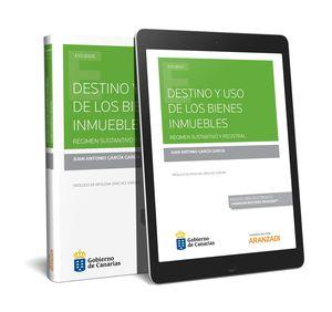 DESTINO Y USO DE LOS BIENES INMUEBLES  (PAPEL + E-BOOK)