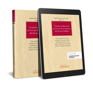 CONTRATOS MENORES EN LA LEY DE CONTRATOS DEL SECTOR PÚBLICO (PAPEL + E-BOOK)