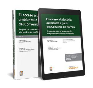 ACCESO A LA JUSTICIA AMBIENTAL A PARTIR DEL CONVENIO DE AARHUS, EL (PAPEL + E-BOOK)