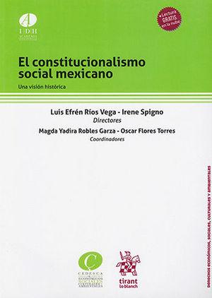 CONSTITUCIONALISMO SOCIAL MEXICANO, EL