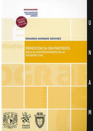 DEMOCRACIA SIN PARTIDOS HACIA EL EMPODERAMIENTO DE LA SOCIEDAD CIVIL