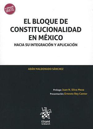BLOQUE DE CONSTITUCIONALIDAD EN MÉXICO, EL