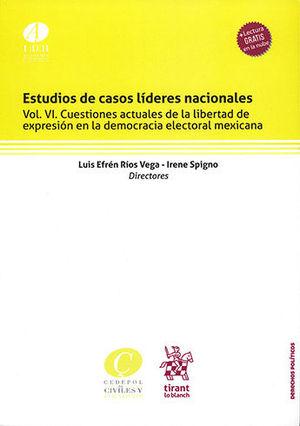 ESTUDIOS DE CASOS LÍDERES NACIONALES VOL. VI