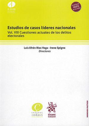 ESTUDIOS DE CASOS LÍDERES NACIONALES VOL.VIII