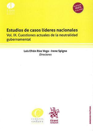 ESTUDIOS DE CASOS LÍDERES NACIONALES VOL. IX