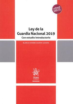 LEY DE LA GUARDIA NACIONAL 2019