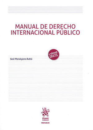 MANUAL DE DERECHO INTERNACIONAL PÚBLICO