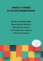 MEDIOS Y FORMAS DE ACCION ADMINISTRATIVA