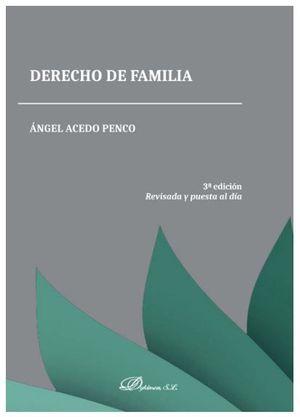 DERECHO DE FAMILIA. TERCERA EDICIÓN
