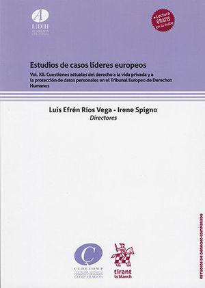 ESTUDIOS DE CASOS LÍDERES EUROPEOS VOL. XII.