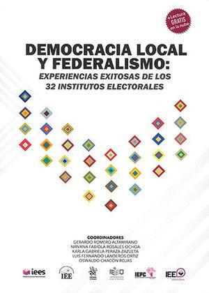 DEMOCRACIA LOCAL Y FEDERALISMO