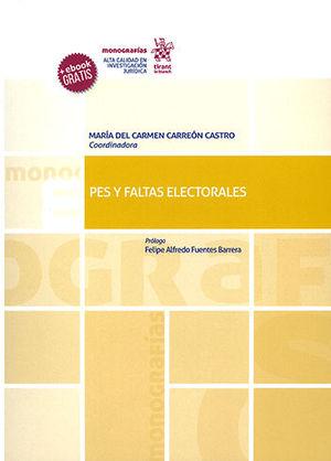PES Y FALTAS ELECTORALES
