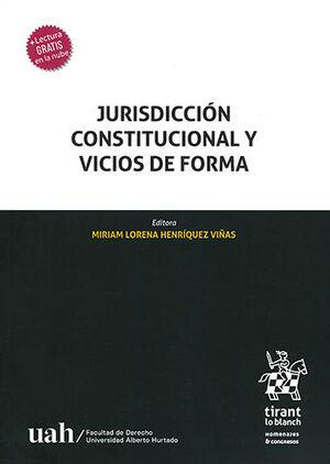JURISDICCIÓN CONSTITUCIONAL Y VICIOS DE FORMA