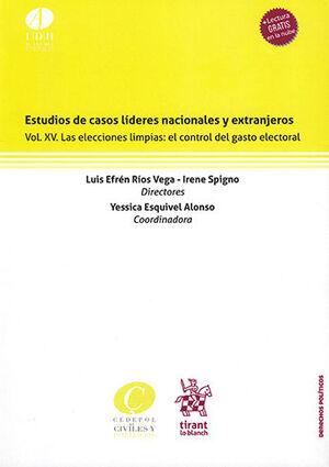 ESTUDIOS DE CASOS LÍDERES NACIONALES Y EXTRANJEROS VOL. XV