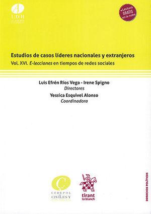 ESTUDIOS DE CASOS LÍDERES NACIONALES Y EXTRANJEROS VOL XVI.