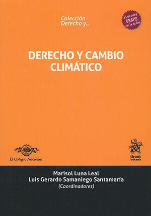 DERECHO Y CAMBIO CLIMÁTICO
