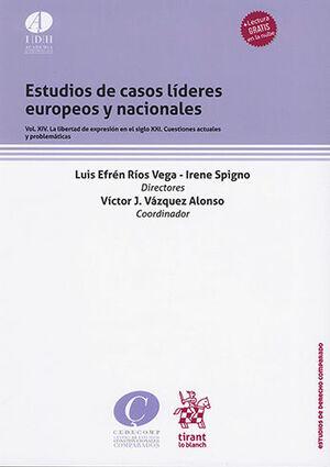 ESTUDIO DE CASOS LÍDERES EUROPEOS Y NACIONALES VOL. XIV