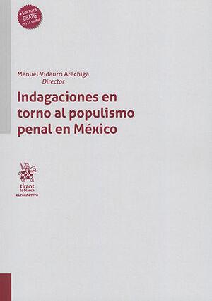 INDAGACIONES EN TORNO AL POPULISMO PENAL EN MÉXICO