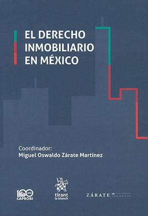 DERECHO INMOBILIARIO EN MÉXICO, EL