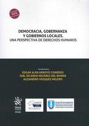 DEMOCRACIA, GOBERNANZA Y GOBIERNOS LOCALES