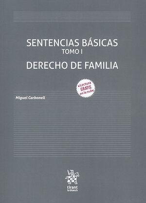 SENTENCIAS BÁSICAS - DERECHO DE FAMILIA - TOMO I
