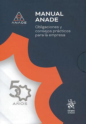 MANUAL ANADE - OBLIGACIONES Y CONSEJOS PRÁCTICOS PARA LA EMPRESA