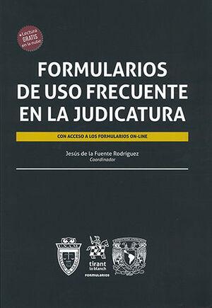 FORMULARIOS DE USO FRECUENTE EN LA JUDICATURA
