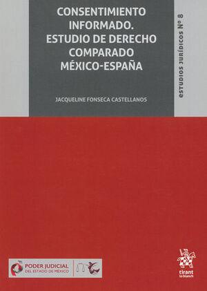 CONSENTIMIENTO INFORMADO. ESTUDIO DE DERECHO COMPARADO MÉXICO-ESPAÑA