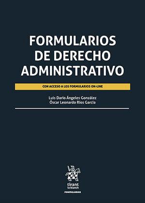 FORMULARIOS DE DERECHO ADMINISTRATIVO CON ACCESO A LOS FORMULARIOS ON-LINE