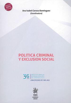 POLÍTICA CRIMINAL Y EXCLUSIÓN SOCIAL