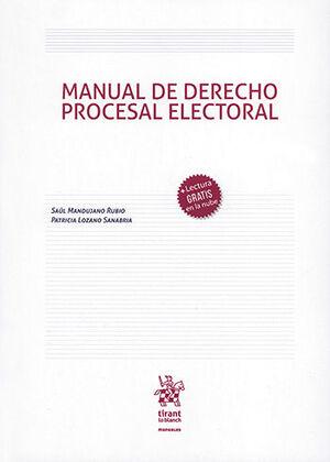MANUAL DE DERECHO PROCESAL ELECTORAL
