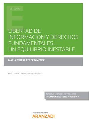 LIBERTAD DE INFORMACIÓN Y DERECHOS FUNDAMENTALES