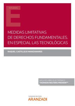 MEDIDAS LIMITATIVAS DE DERECHOS FUNDAMENTALES