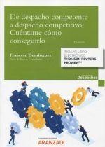 DE DESPACHO COMPETENTE A DESPACHO COMPETITIVO - 3.ª ED. 2021
