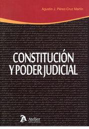 CONSTITUCIÓN Y PODER JUDICIAL
