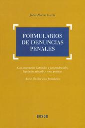 FORMULARIOS DE DENUNCIAS PENALES