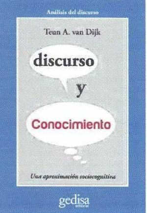 DISCURSO Y CONOCIMIENTO